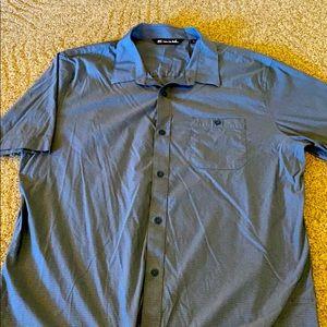 Travis Mathew button up collared shirt size XL